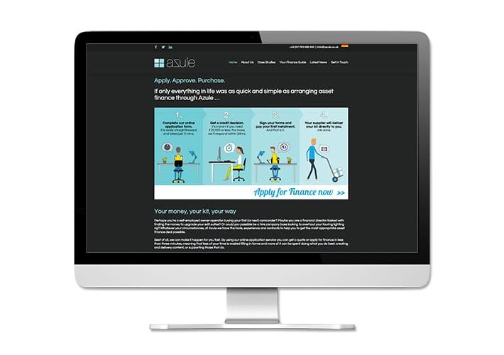 azule website design