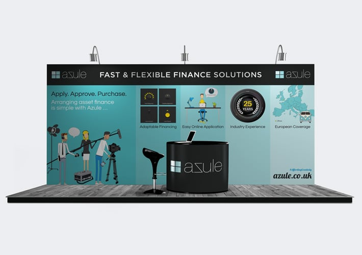 azule exhibition stand design