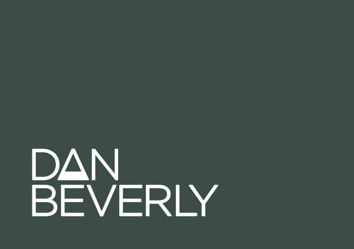 dan beverly logo design and visual brand identity