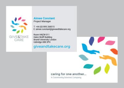 Give&Take Care branding & print