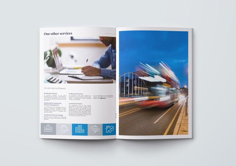 Estate Agent Brochure Design