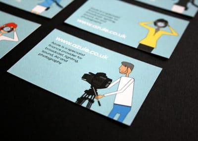 Azule branding, website & print