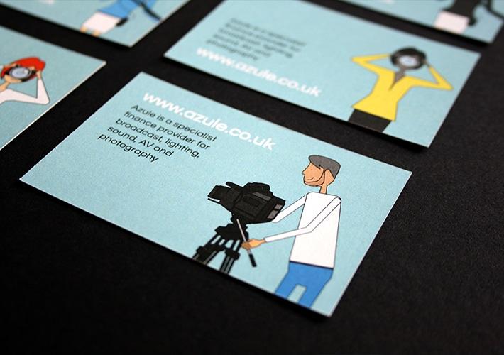 azule brand design bespoke illustrations