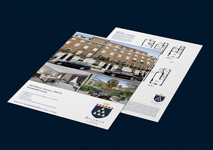 estate agent property particulars design