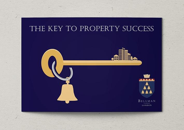 estate agent promotional leaflet