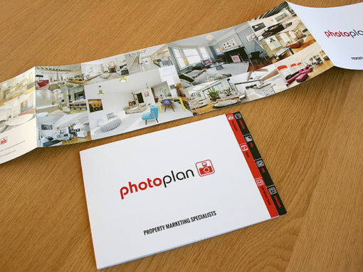 Photoplan Property Marketing printed materials