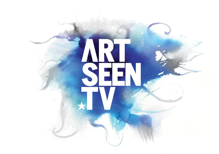 artseen tv brand design