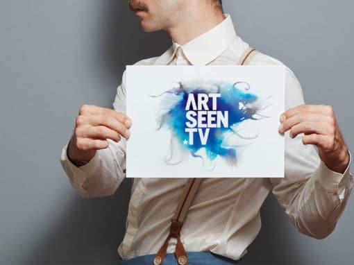 Artseen TV branding & print