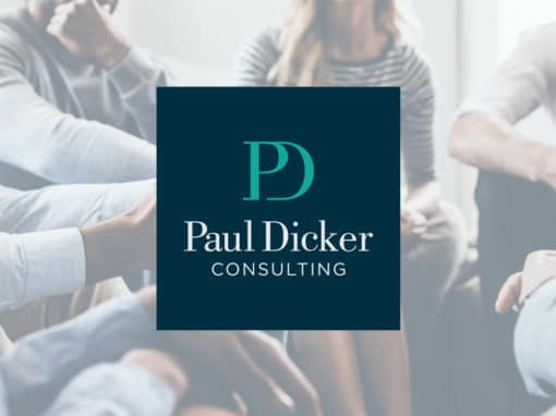 Paul Dicker Consulting branding & website design