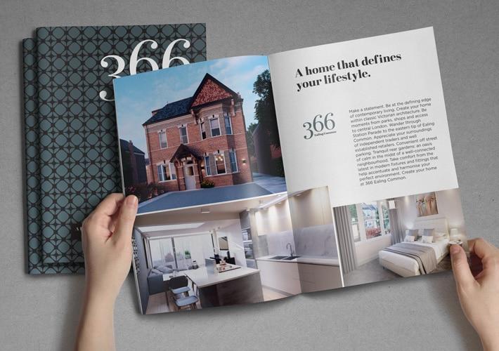 property marketing brochure design