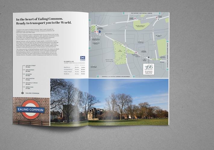 new development property brochure