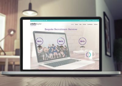 Cantello Tayler Recruitment website design
