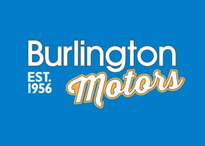 Burlington Motors branding & print