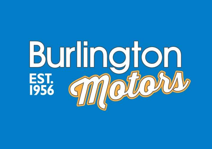 burlington motors branding