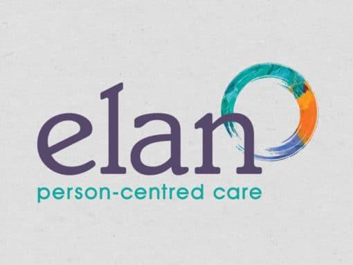 Elan branding, print & website