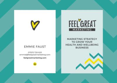 Feel Great Marketing: branding, website & print