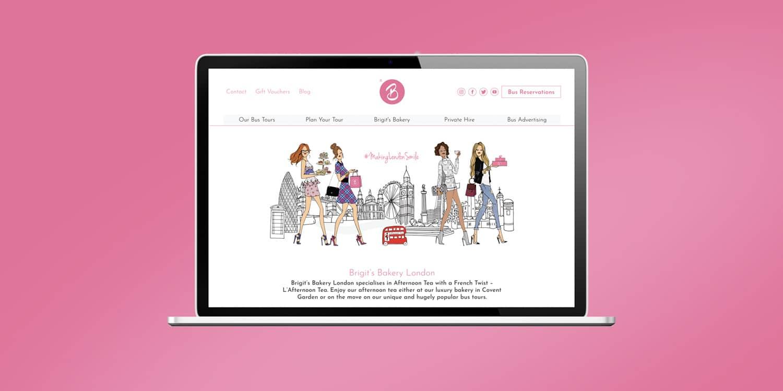 B Bakery Craft website design and build