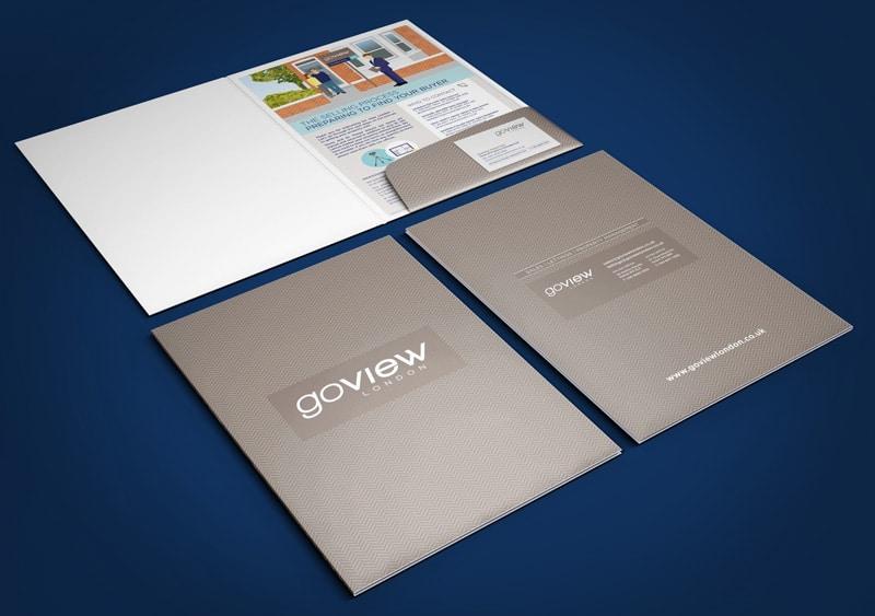 Estate Agent Branding Folder