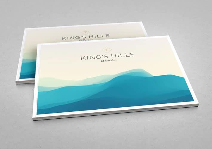 Property Brochure Design   King's Hills Marbella