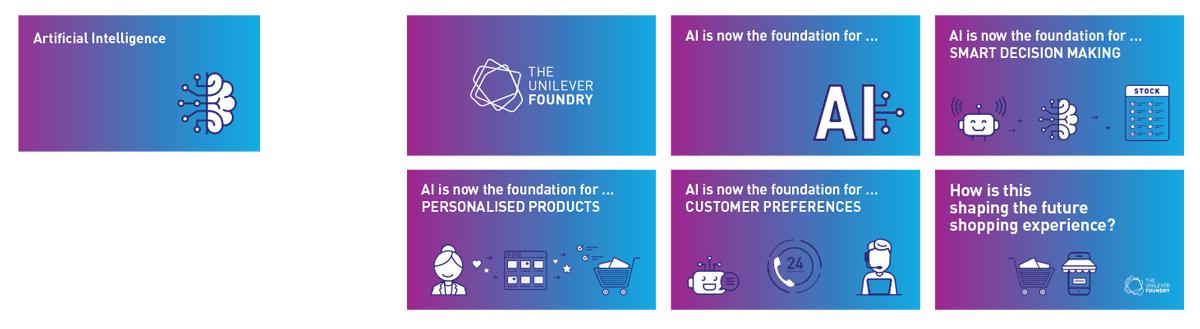 Unilever Foundry Social Media Animations