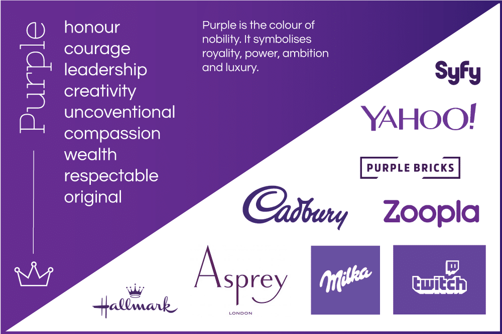 A Purple logo: Is it the best colour for your brand?