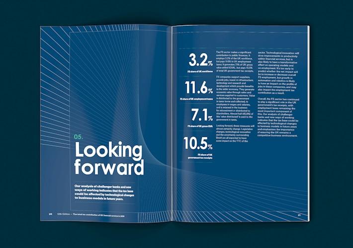 City of London Total Tax Report Design