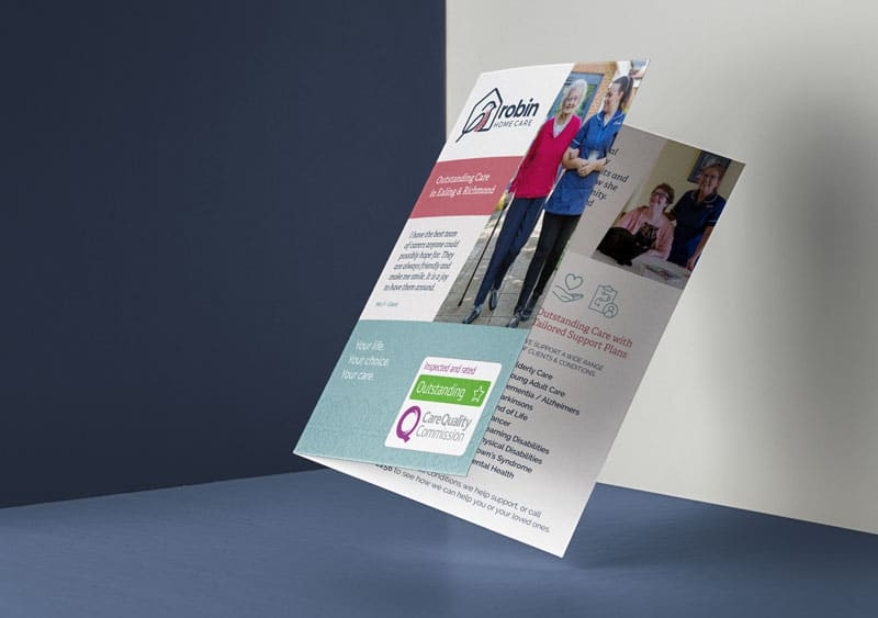 Robin Home Care Flyer