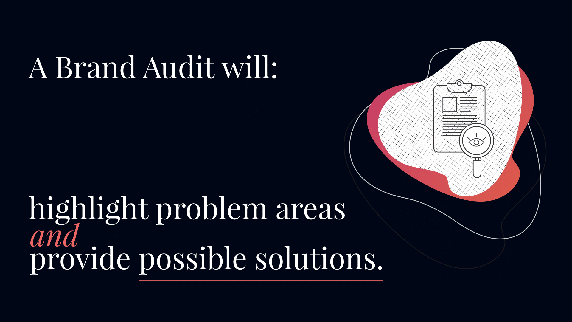 Business Brand Audit problems solved