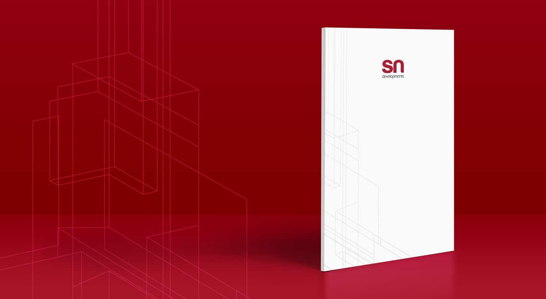SN Developments: Developer brochure design