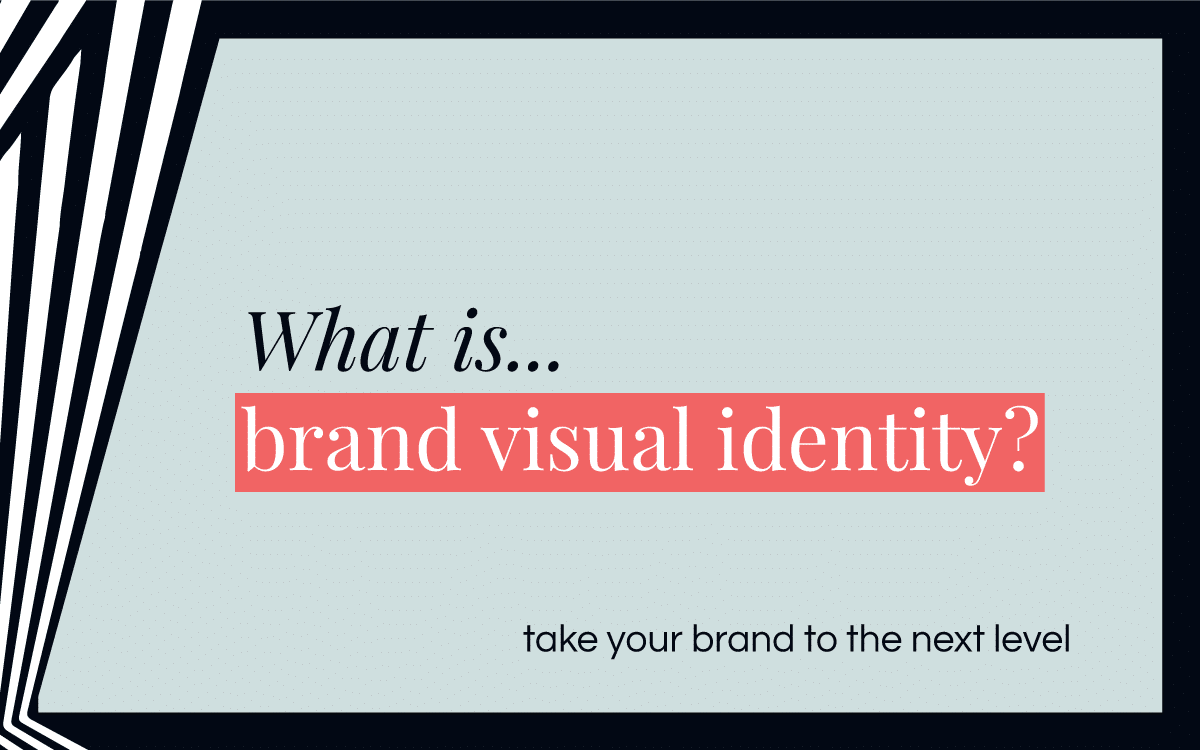 What is brand visual identity?