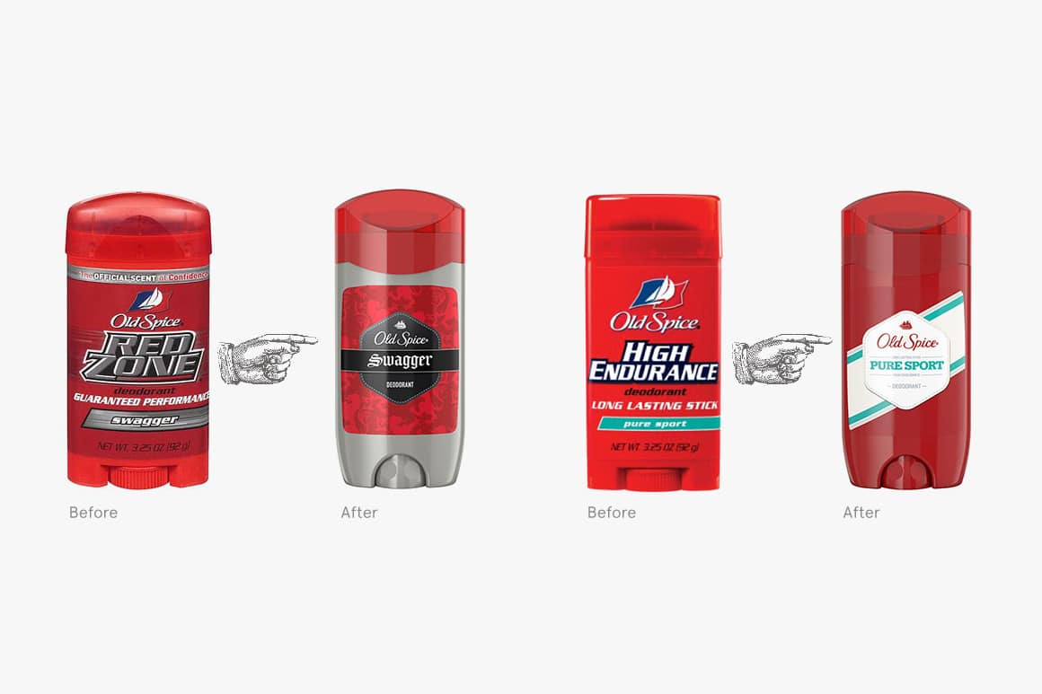 Why do companies rebrand themselves? Old Spice example