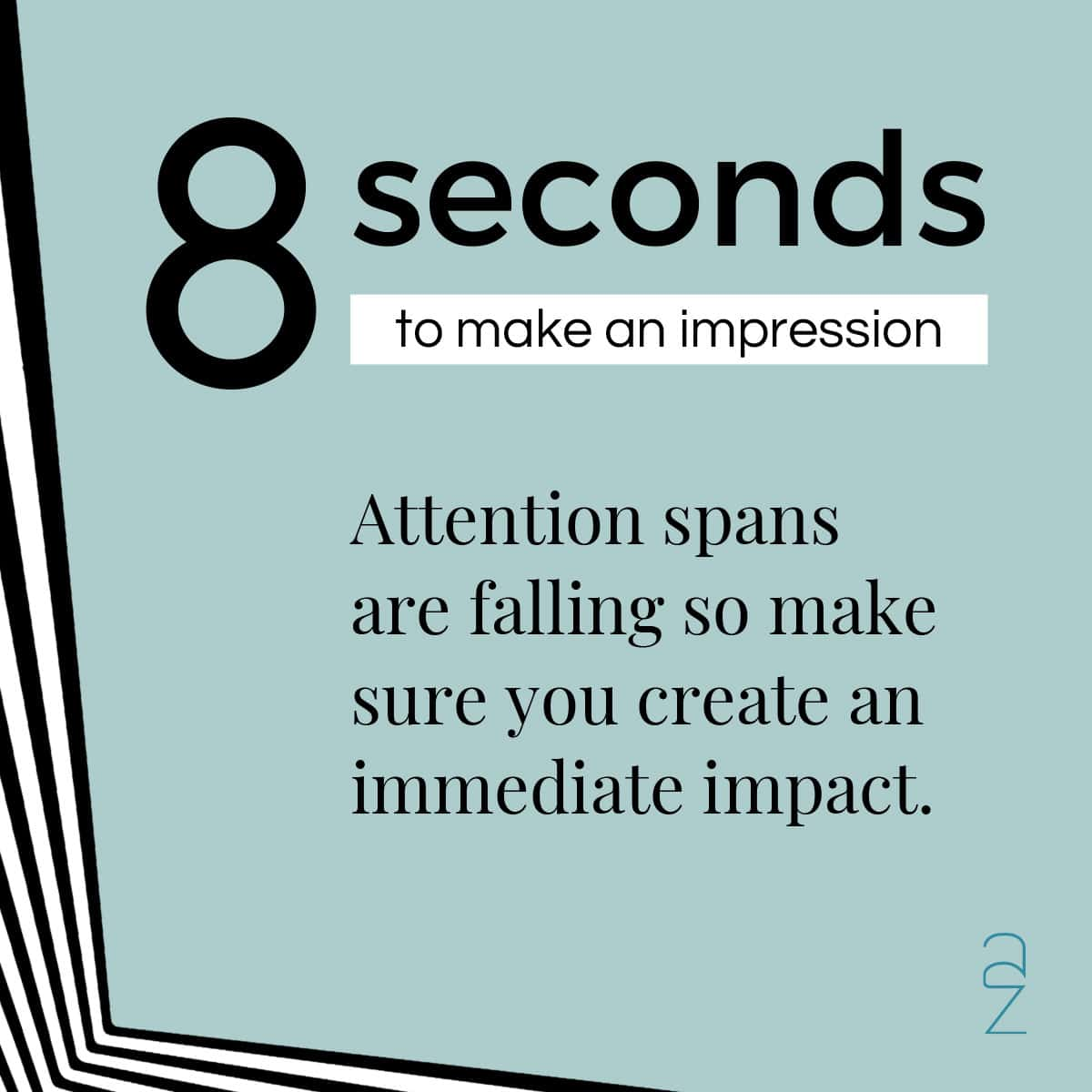 why does graphic design matter? you only have 8 seconds to make an impression